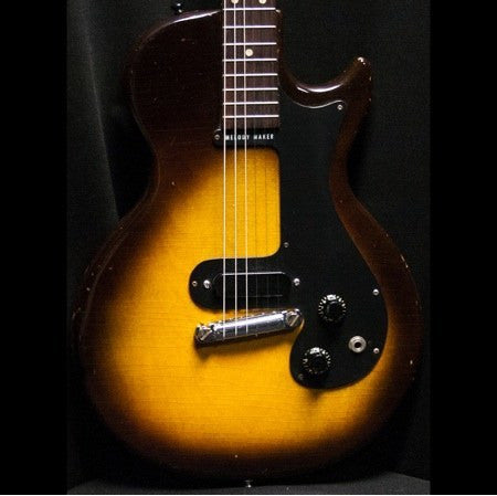 1959 Gibson Melody Maker 3/4 Sunburst - Garrett Park Guitars  - 3