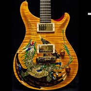 1999 PRS DRAGON 2000 PROTOTYPE #6 VINTAGE YELLOW - Garrett Park Guitars  - 3