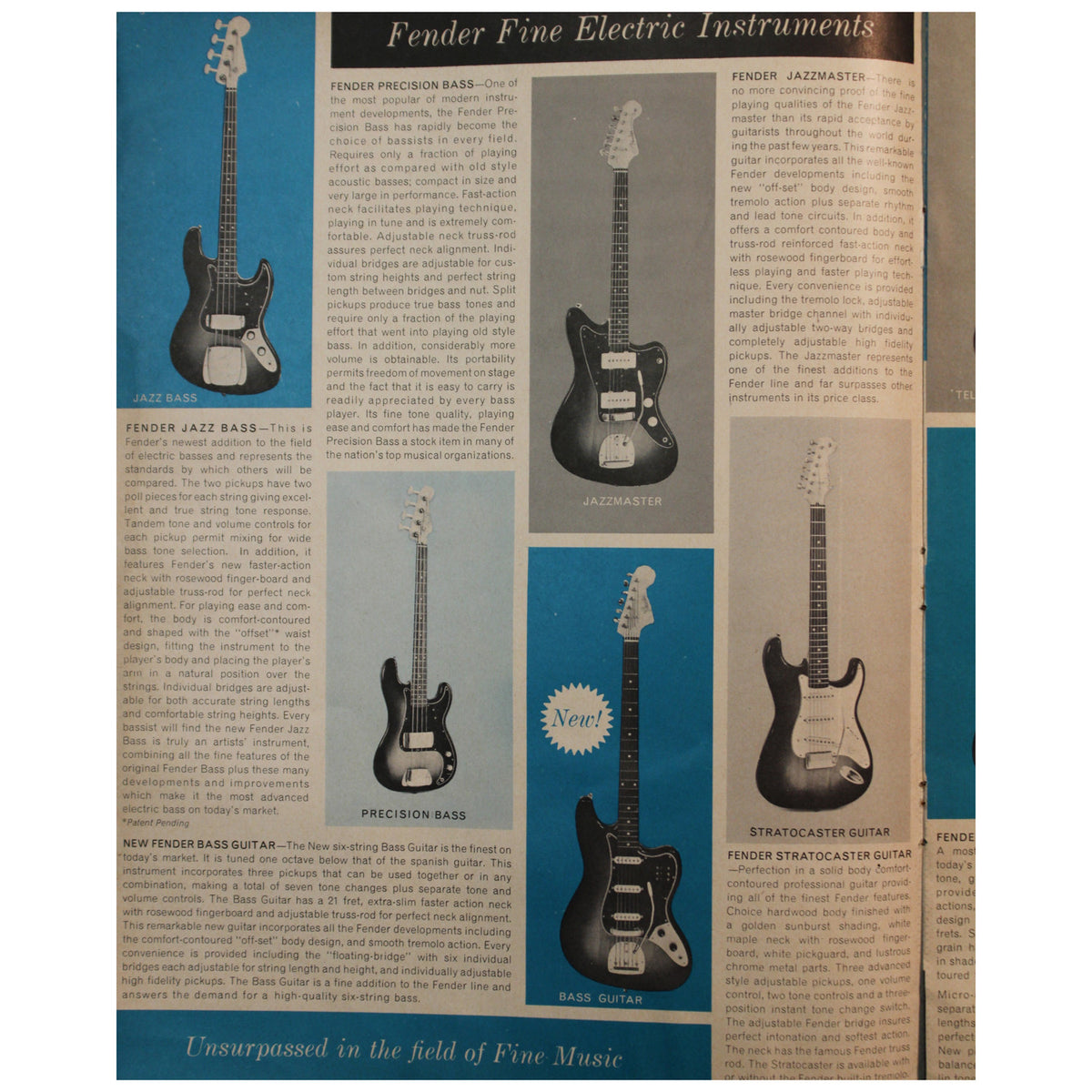 Fender Catalog Collection (1955-1966) - Garrett Park Guitars  - 50