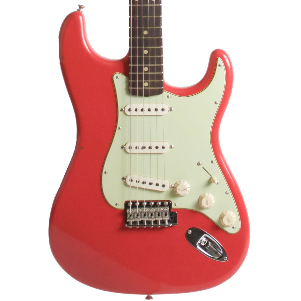 2015 Fender Custom Shop Rocking Dog '62 Stratocaster Fiesta Red - Garrett Park Guitars  - 2