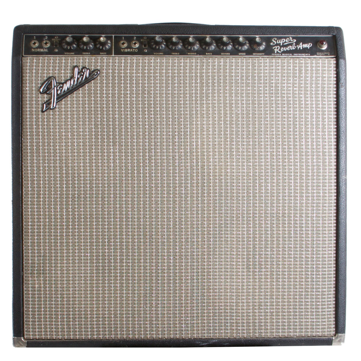 1966 Fender Super Reverb - Garrett Park Guitars  - 2