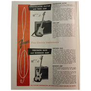 Fender Catalog Collection (1955-1966) - Garrett Park Guitars  - 2
