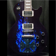 2003 GIBSON LES PAUL STANDARD CUSTOM PAINTED FOR GODSMACK - Garrett Park Guitars  - 3