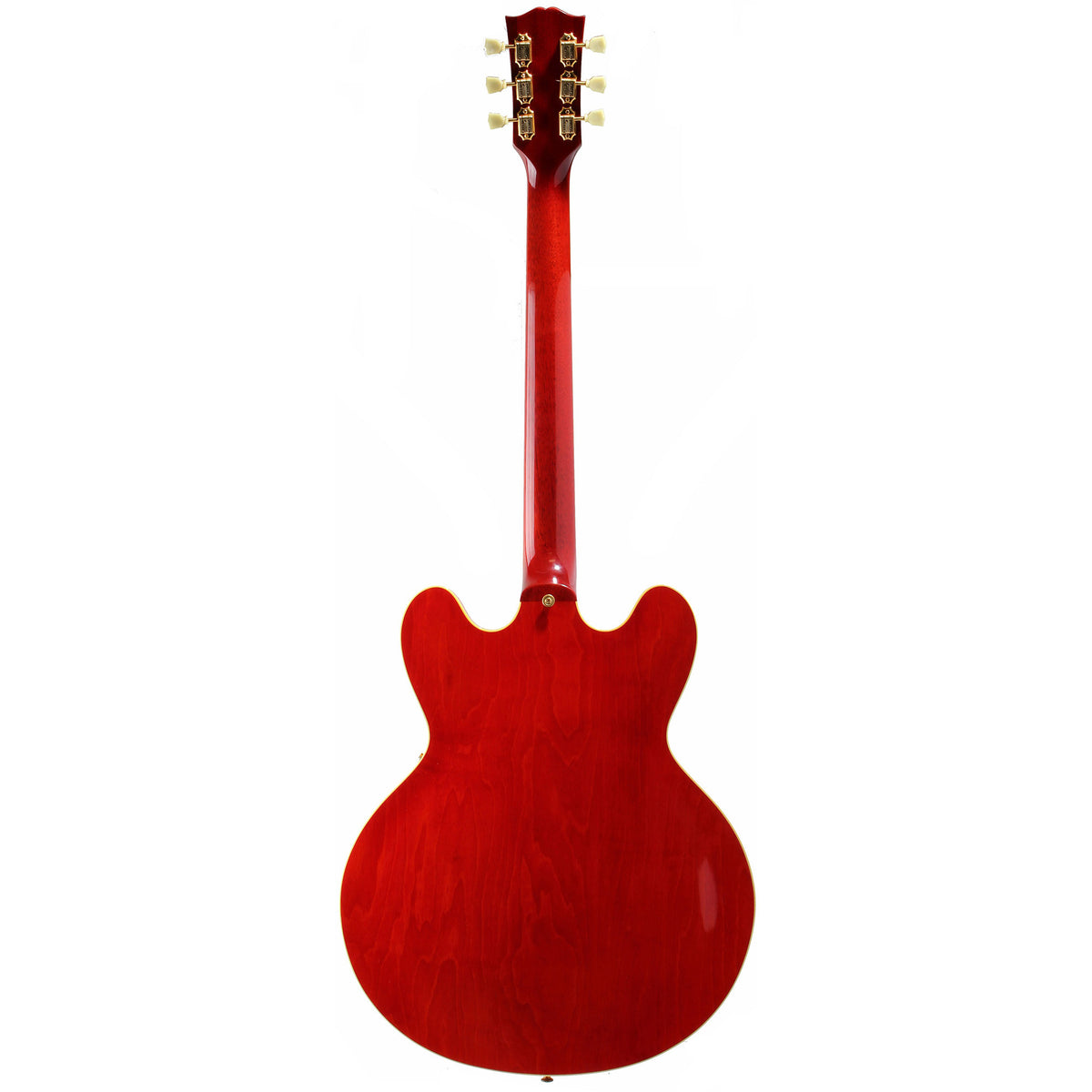 2000 GIbson Custom Shop ES-345 Mono, Cherry Red with Gold - Garrett Park Guitars  - 6