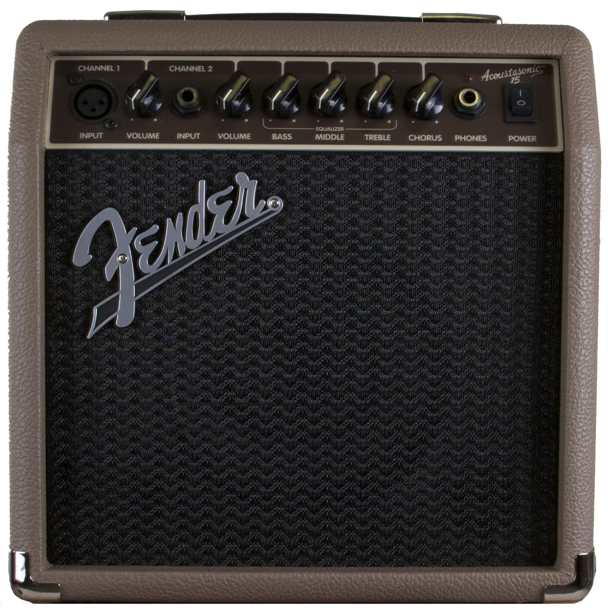 Fender Amp Acoustasonic 15 Brown 15W 1x6 - Garrett Park Guitars  - 2