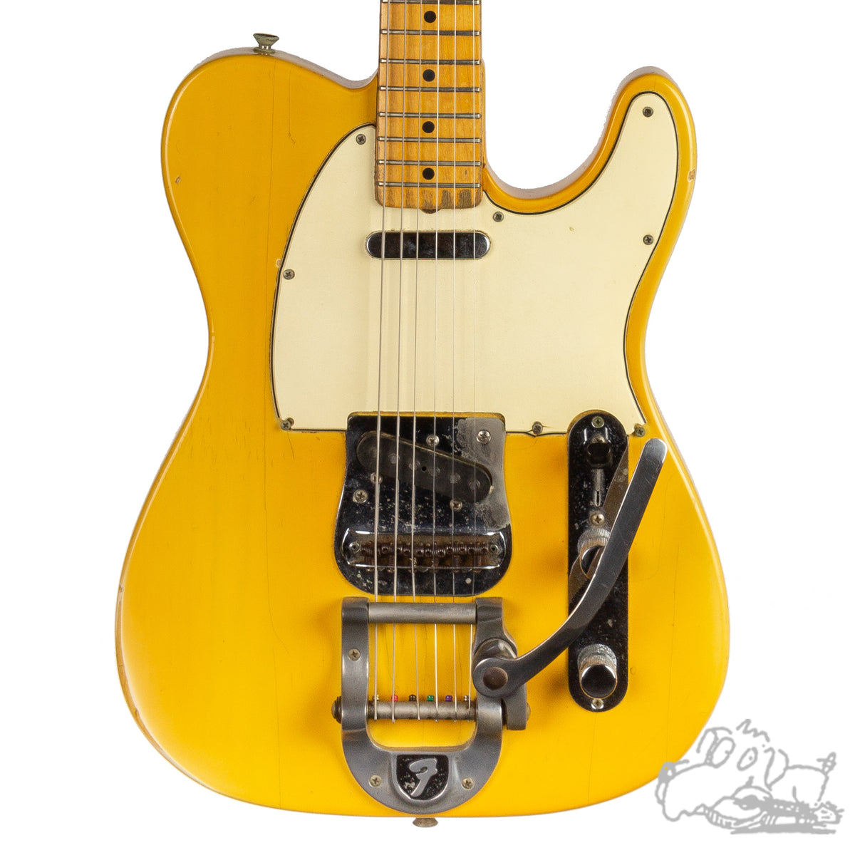 1968 Fender Telecaster in Blonde with Factory-Installed Bigsby