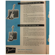 Fender Catalog Collection (1955-1966) - Garrett Park Guitars  - 18