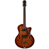 Godin 5th Avenue CW Kingpin in Cognac Burst - Garrett Park Guitars  - 3