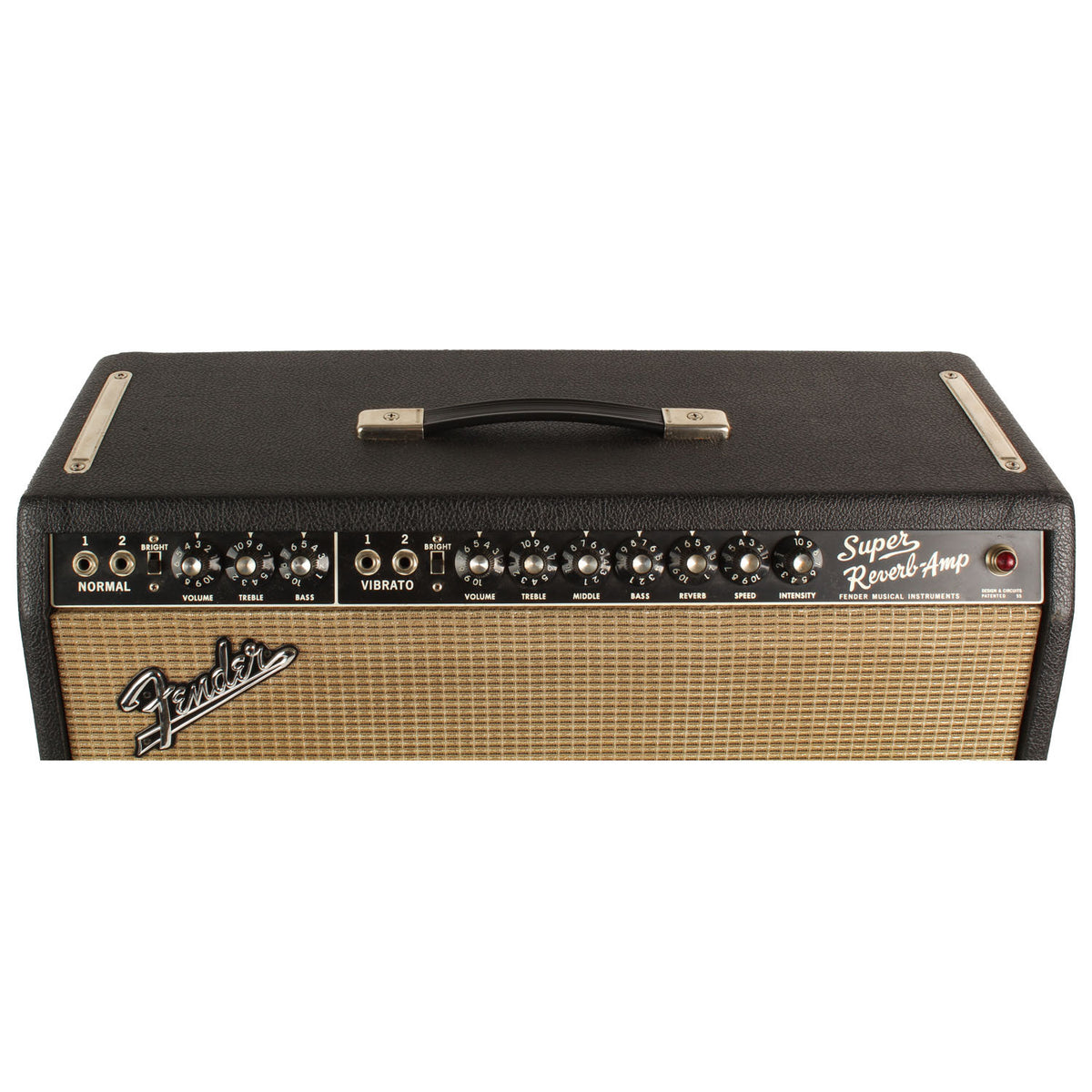 1967 Fender Super Reverb - Garrett Park Guitars  - 3