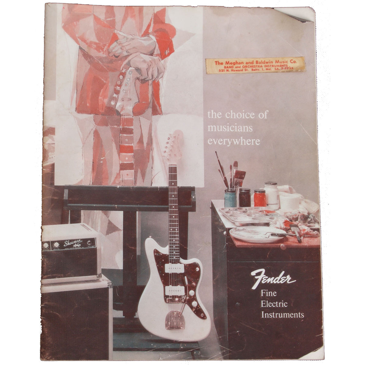 1960 Fender Catalog - Garrett Park Guitars