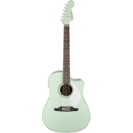 Fender Dreadnaught Surf Green - Garrett Park Guitars  - 4