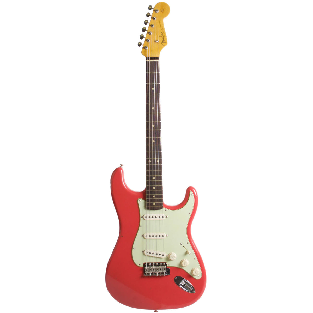 2015 Fender Custom Shop Rocking Dog '62 Stratocaster Fiesta Red - Garrett Park Guitars  - 3