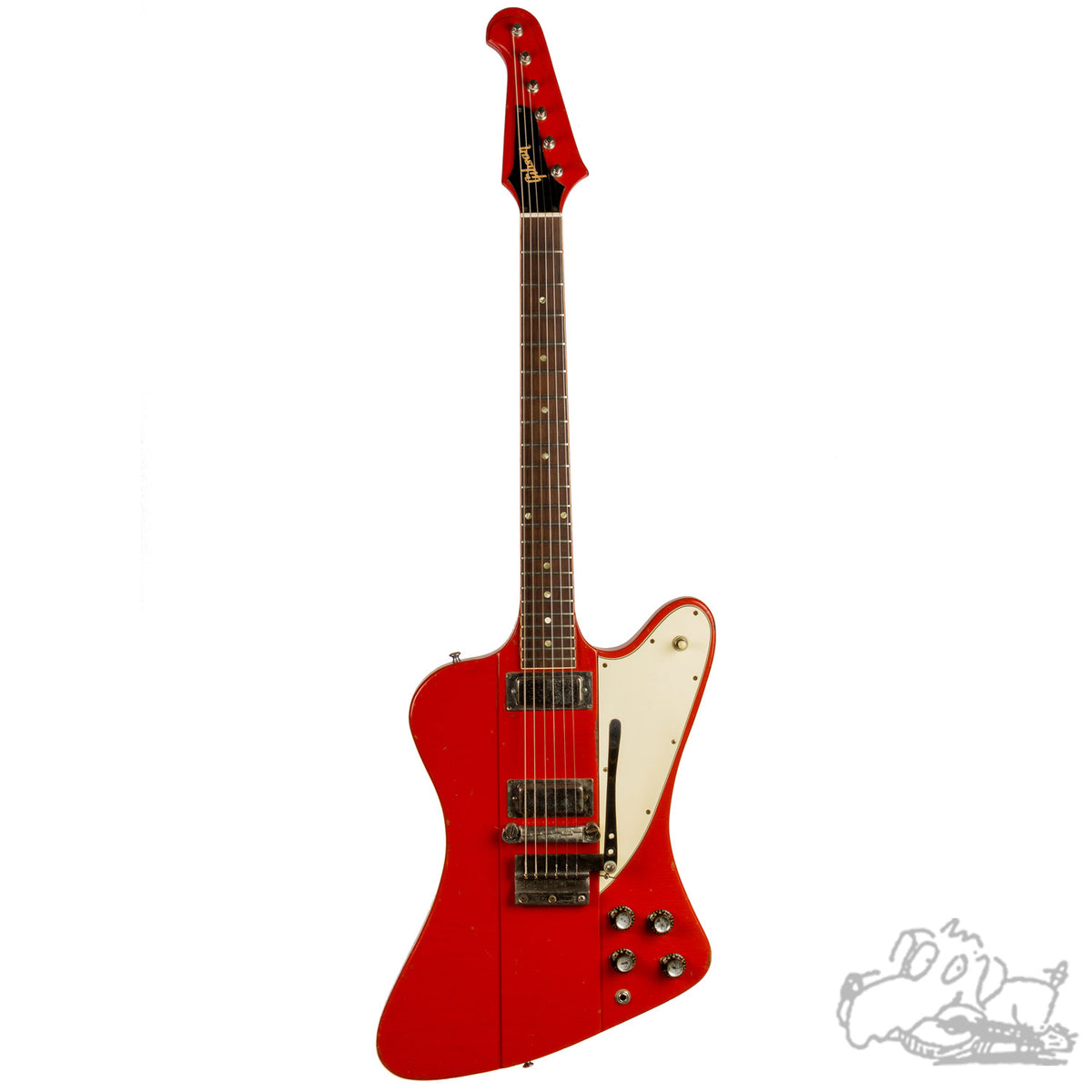 1965 Gibson Firebird III in Ember Red