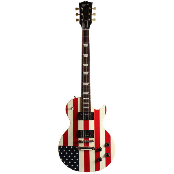 2001 Gibson September 11th Tribute Flag Les Paul - Garrett Park Guitars  - 3