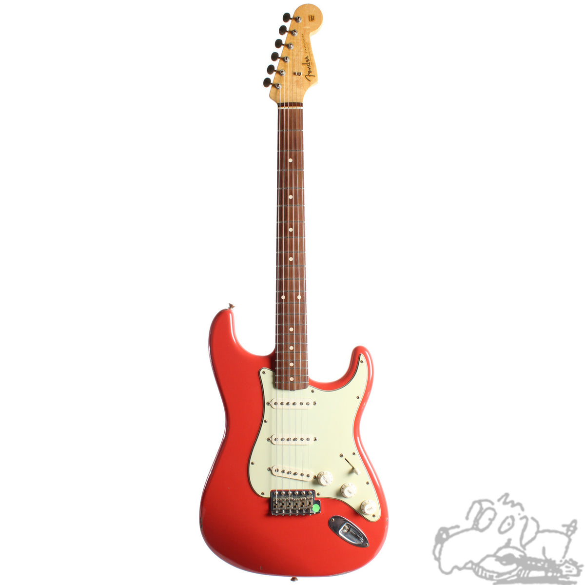 2004 Fender Custom Shop '60 Stratocaster Relic, Fiesta Red