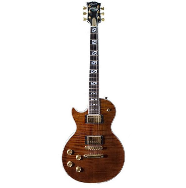 2004 GIBSON LES PAUL SUPREME, ROOT BEER, LEFTY - Garrett Park Guitars  - 3