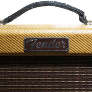 1956 Fender Deluxe Tweed Amp - Garrett Park Guitars  - 3