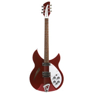 2013 Rickenbacker 330 Ruby Red - Garrett Park Guitars  - 3