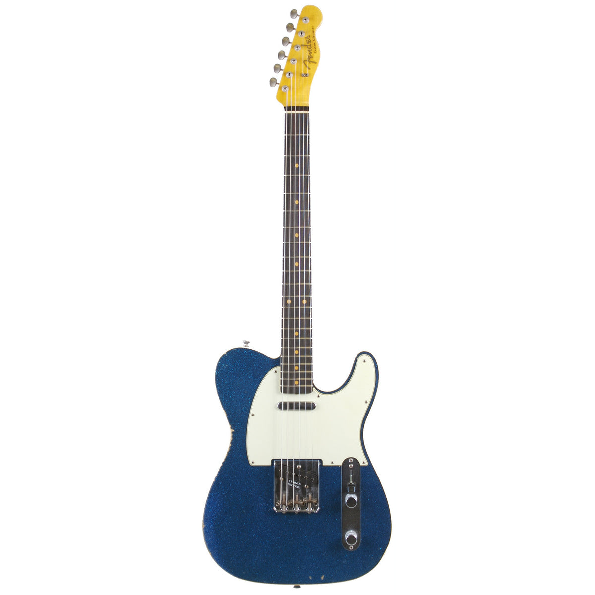 Fender Custom Shop '60 Telecaster Relic Blue Sparkle - Garrett Park Guitars  - 3