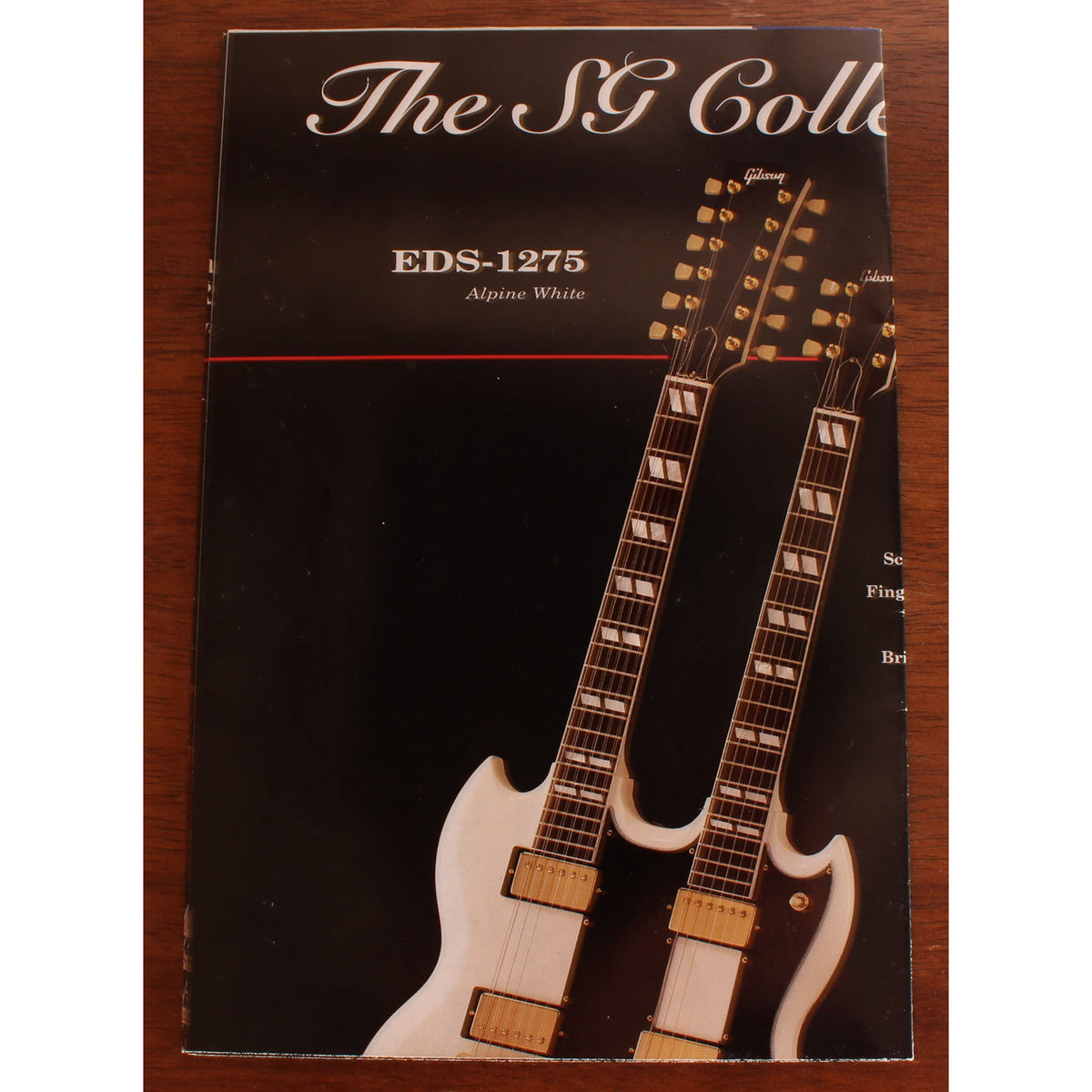 "1990s Gibson ""The SG Collection"" - Garrett Park Guitars"