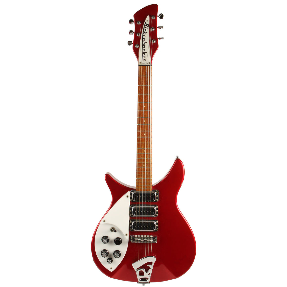 3/4 Left Handed Rickenbacker Red - Garrett Park Guitars  - 3