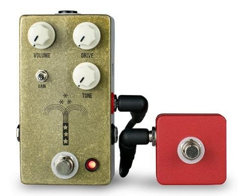 JHS Red Remote Tap Pedal