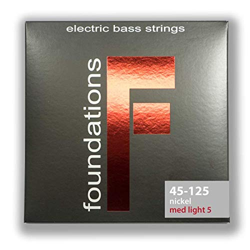 S.I.T Foundations 45 - 125 Nickel Five String Electric Bass Strings
