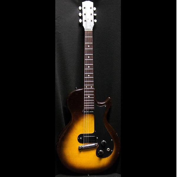 1959 Gibson Melody Maker 3/4 Sunburst - Garrett Park Guitars  - 4