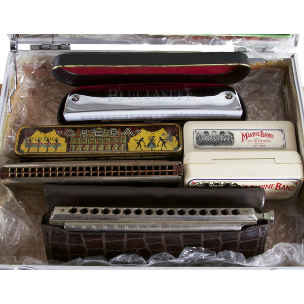 Case of Vintage Harmonicas - Garrett Park Guitars  - 4