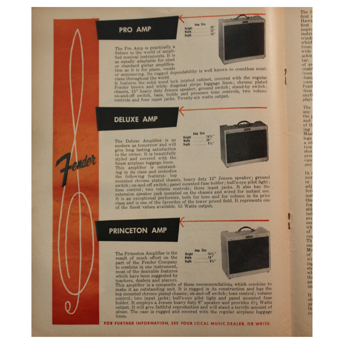 Fender Catalog Collection (1955-1966) - Garrett Park Guitars  - 12