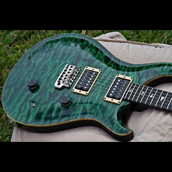 1988 PRS SIGNATURE EMERALD GREEN - Garrett Park Guitars  - 4