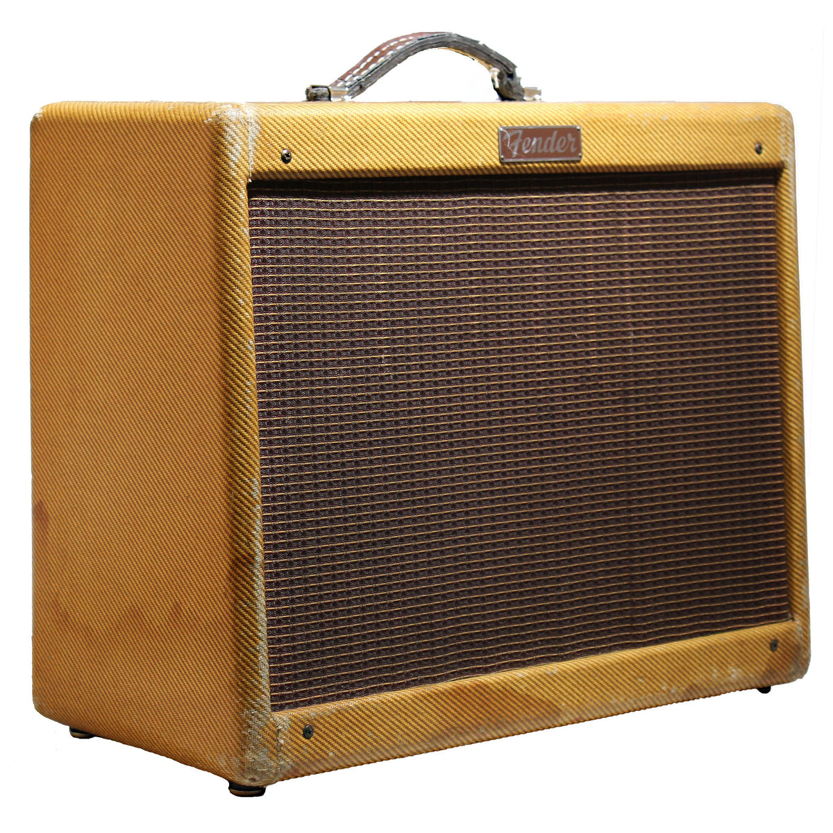 1956 Fender Deluxe Tweed Amp - Garrett Park Guitars  - 1
