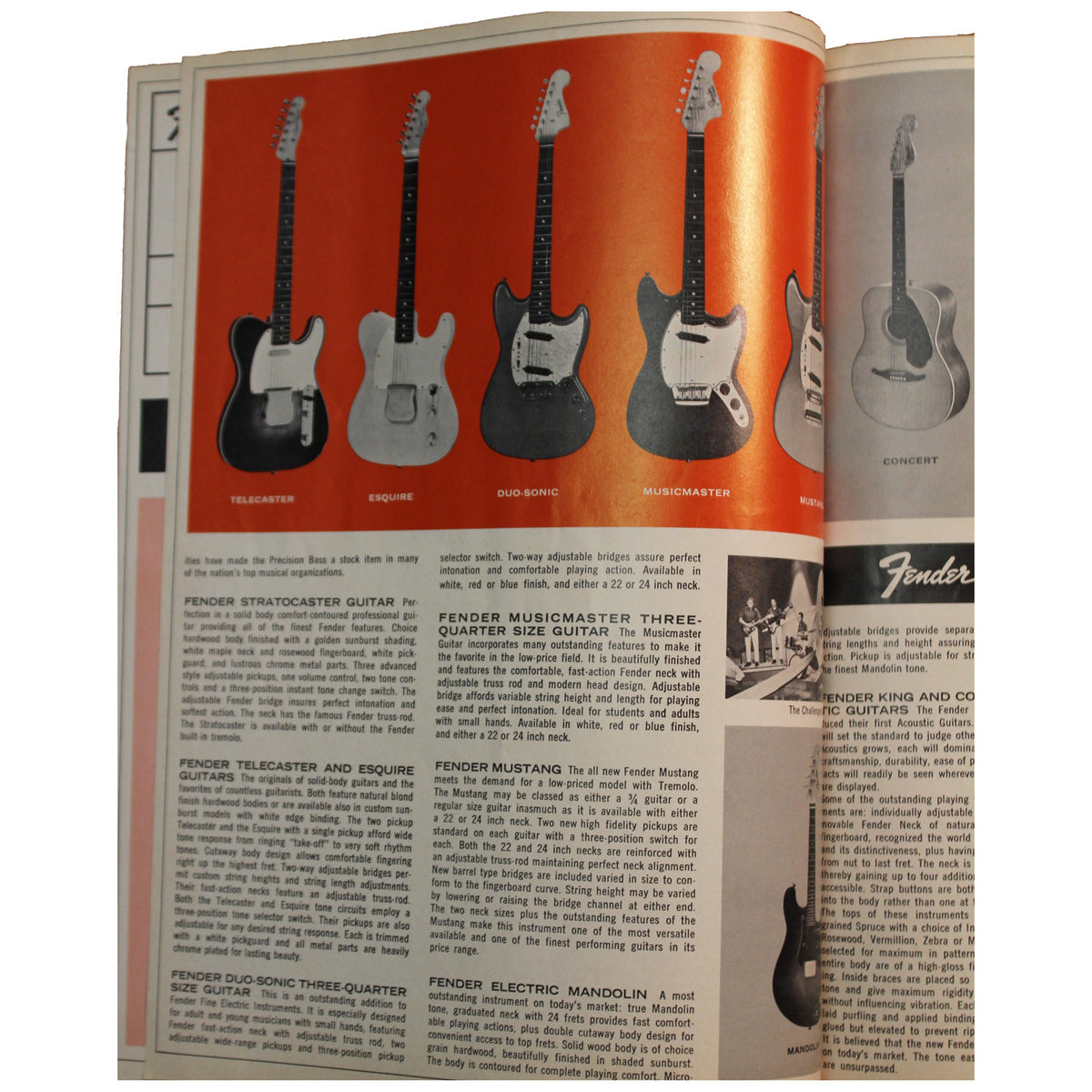 Fender Catalog Collection (1955-1966) - Garrett Park Guitars  - 84