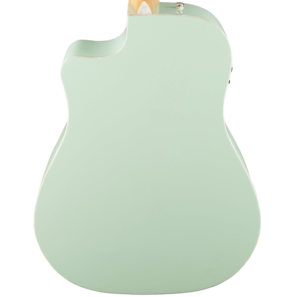 Fender Dreadnaught Surf Green - Garrett Park Guitars  - 5