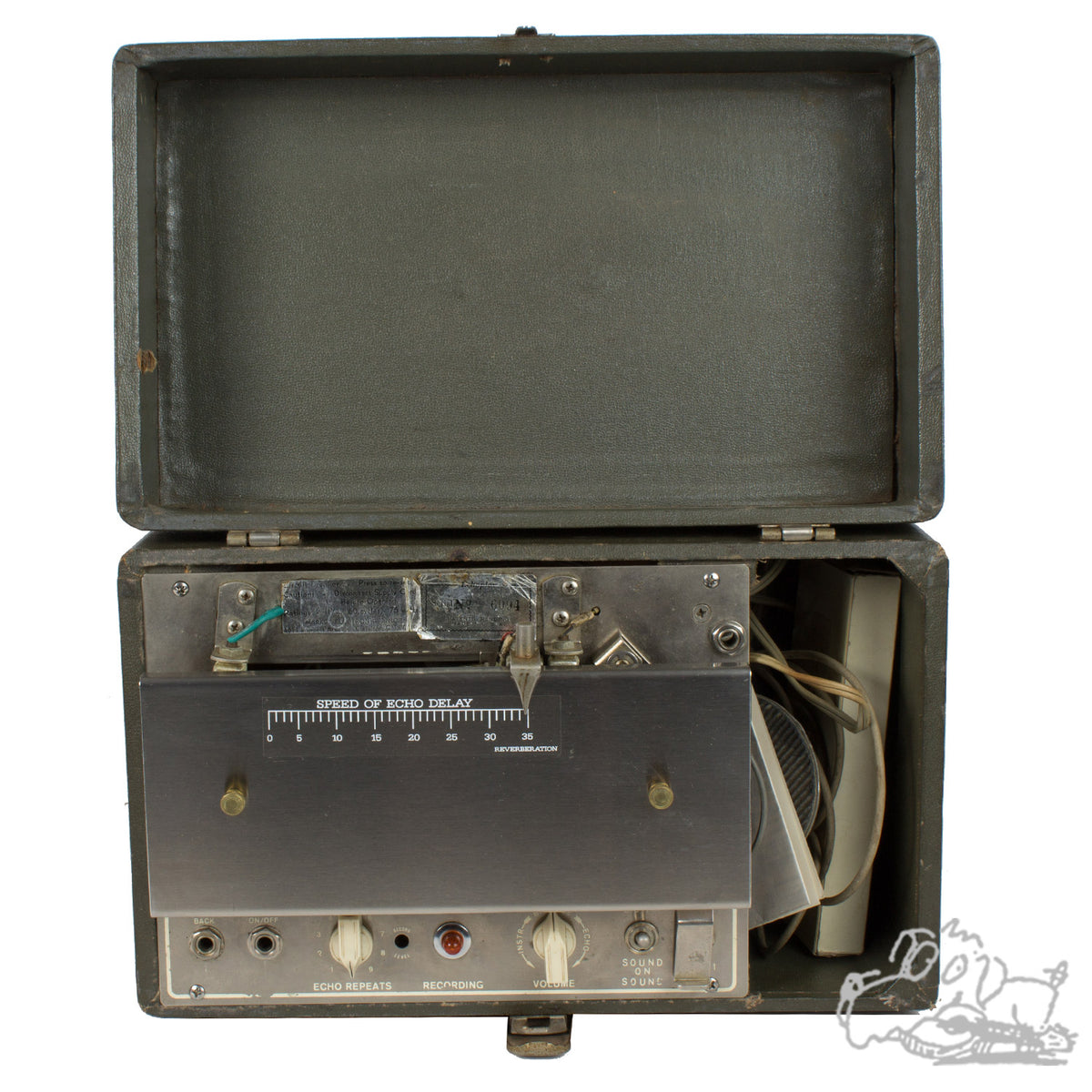 1969 Echoplex EP-2, Just serviced, Tube Goodness!
