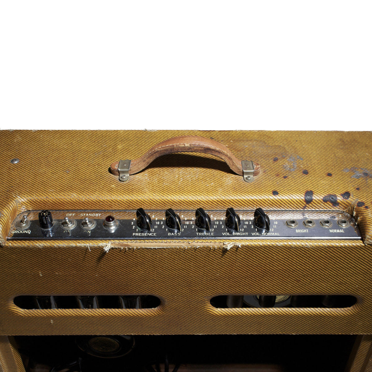 1956 Fender Twin Amplifier - Garrett Park Guitars  - 6