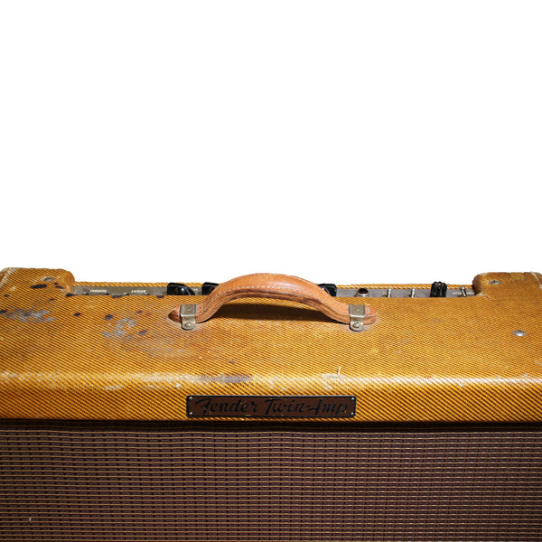 1956 Fender Twin Amplifier - Garrett Park Guitars  - 4