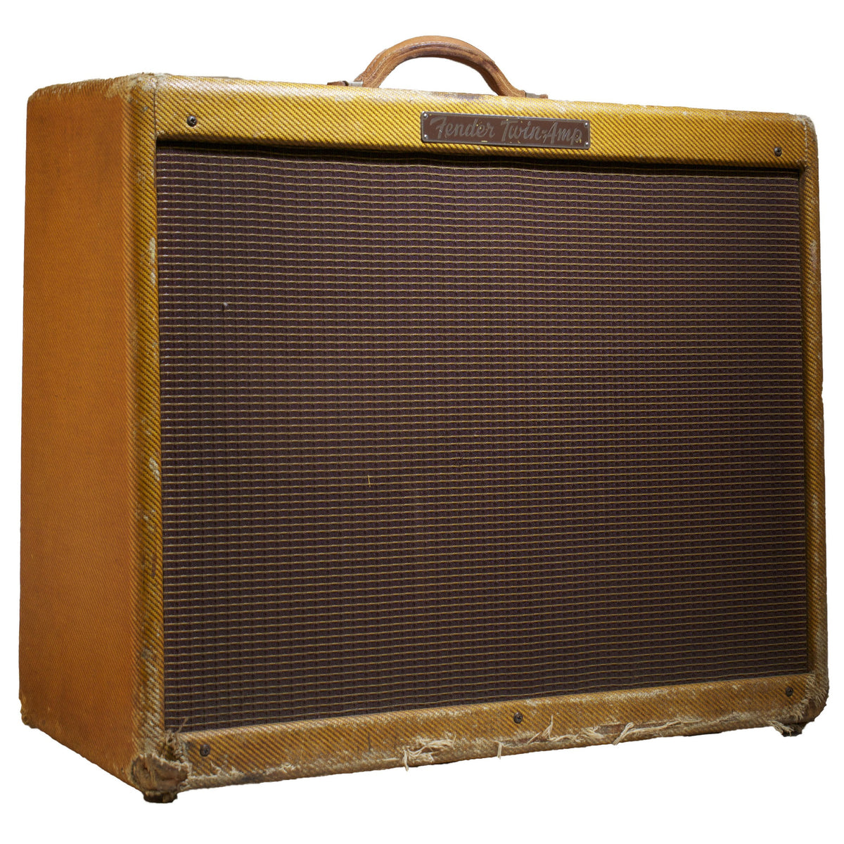 1956 Fender Twin Amplifier - Garrett Park Guitars  - 1
