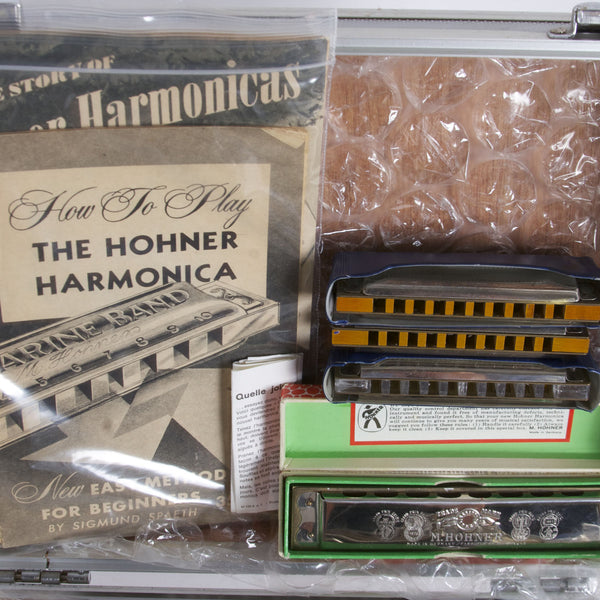Case of Vintage Harmonicas - Garrett Park Guitars  - 5