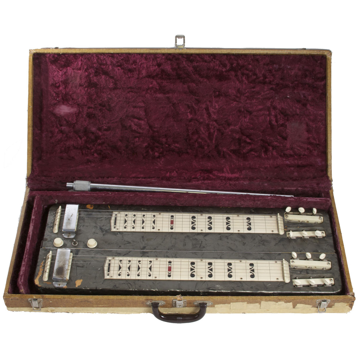 1953/1954 Carvin 6605 Lap Steel - Garrett Park Guitars  - 5