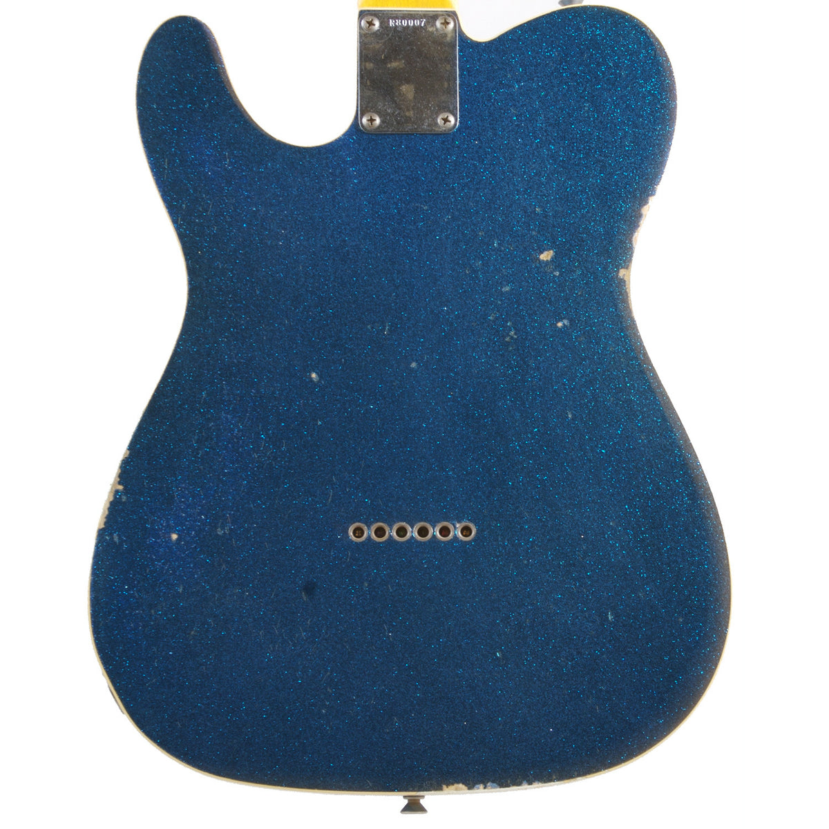 Fender Custom Shop '60 Telecaster Relic Blue Sparkle - Garrett Park Guitars  - 5