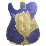 FENDER CUSTOM SHOP PURPLE SPARKLE TELECASTER CUSTOM RELIC - Garrett Park Guitars  - 5