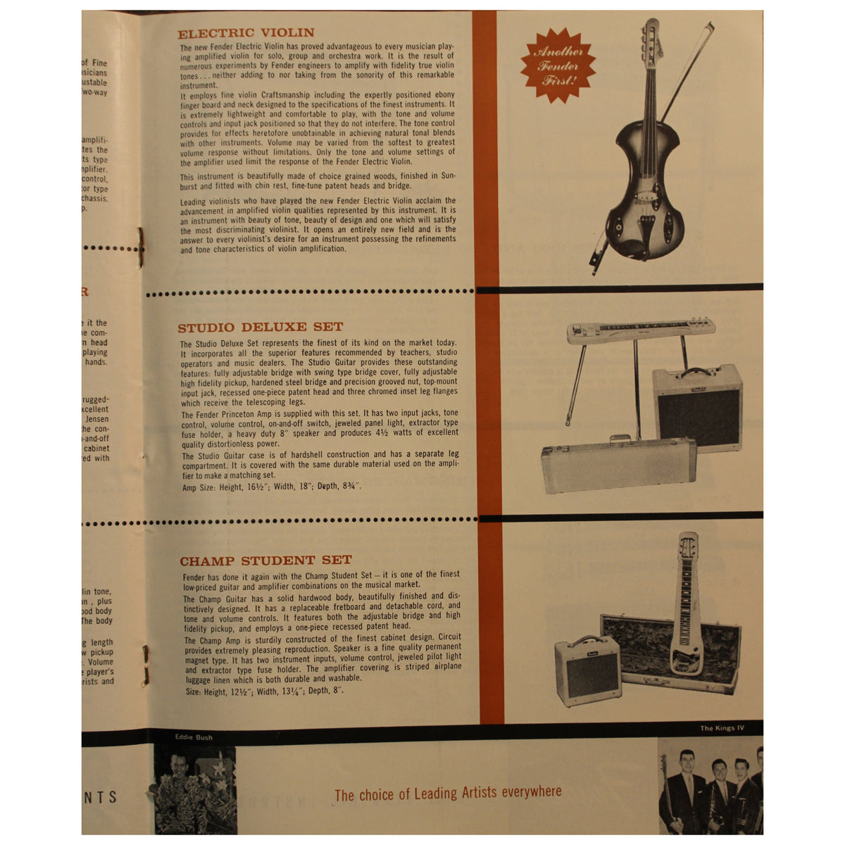 Fender Catalog Collection (1955-1966) - Garrett Park Guitars  - 29