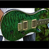 1988 PRS SIGNATURE EMERALD GREEN - Garrett Park Guitars  - 5