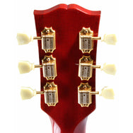 2000 GIbson Custom Shop ES-345 Mono, Cherry Red with Gold - Garrett Park Guitars  - 8