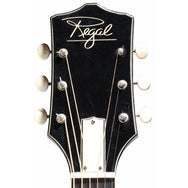 1960s Regal Sovereign Jumbo - Garrett Park Guitars  - 6