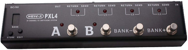 Joyo PXl4 IV Switching System - Black (OPEN BOX SPECIAL)