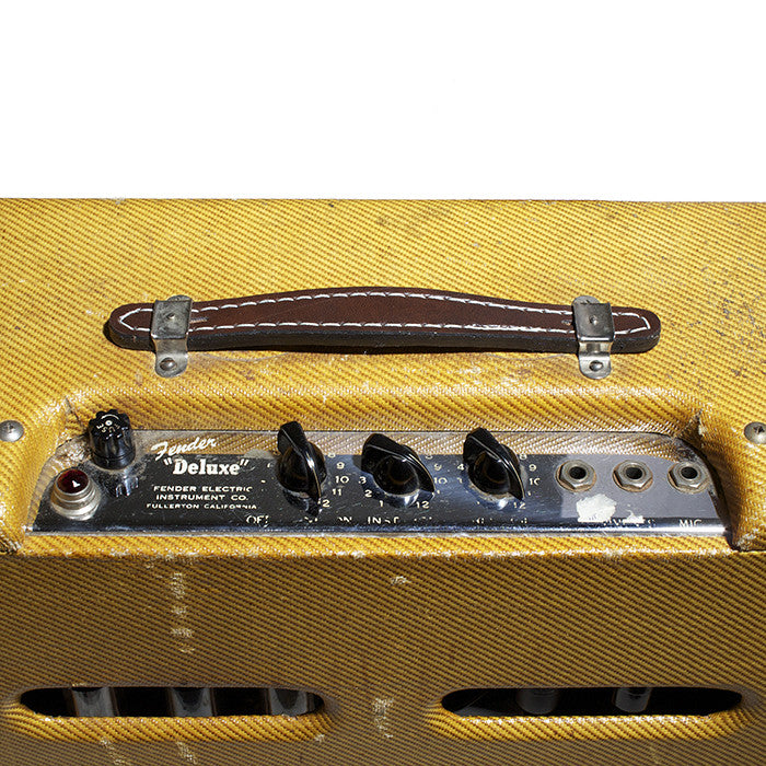 1952 Fender Deluxe Amplifier - Garrett Park Guitars  - 6