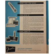 Fender Catalog Collection (1955-1966) - Garrett Park Guitars  - 22