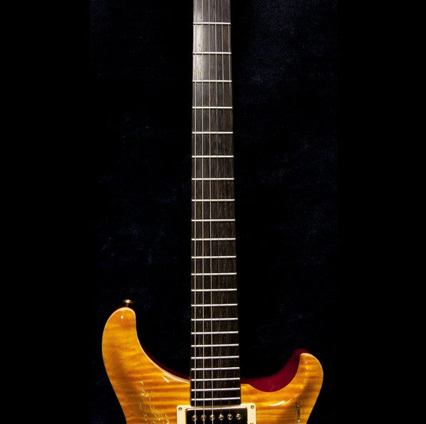 1999 PRS DRAGON 2000 PROTOTYPE #6 VINTAGE YELLOW - Garrett Park Guitars  - 5
